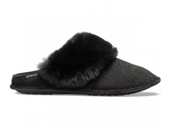 9a4821f1219 Crocs Classic Luxe Slipper black - Slippers - Euro Active Sports