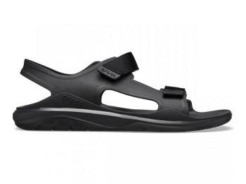 Crocs Mens Swiftwater Exped Sandal black black